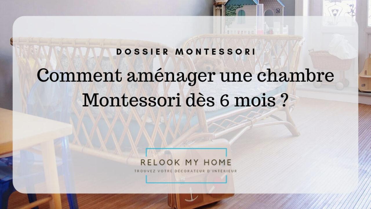 Lit Au Sol Montessori Quel Age comment aménager une chambre montessori dès 6 mois